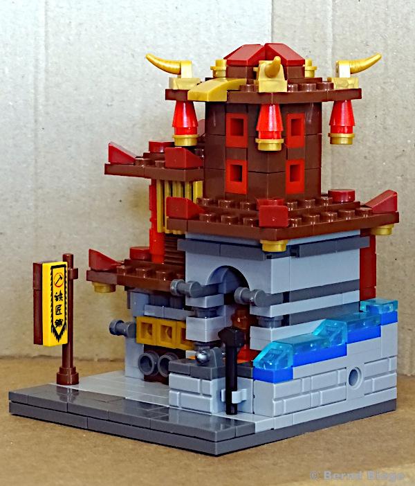 xingbao 01101-A schmiede aufgebaut von vorne