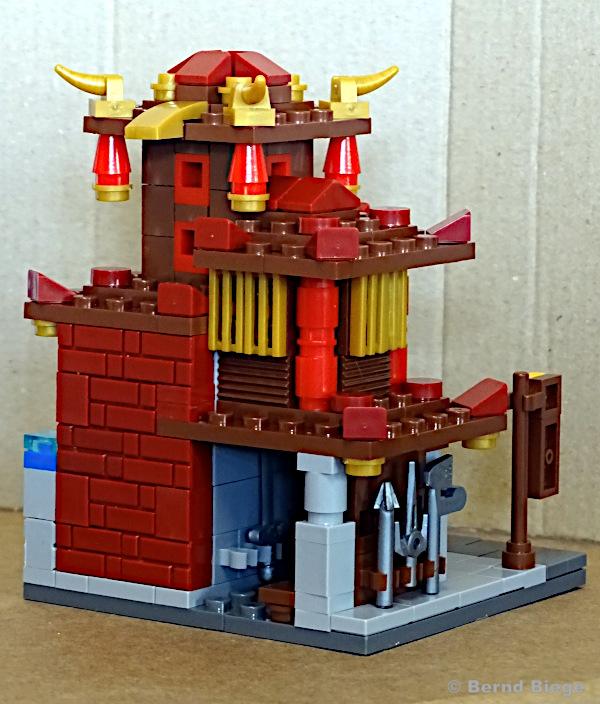xingbao 01101-A schmiede aufgebaut von hinten