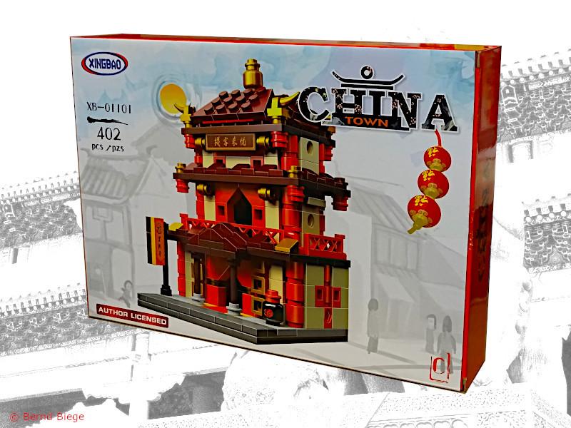 xingbao 01101-C kleine chinesische taverne aus klemmbausteinen