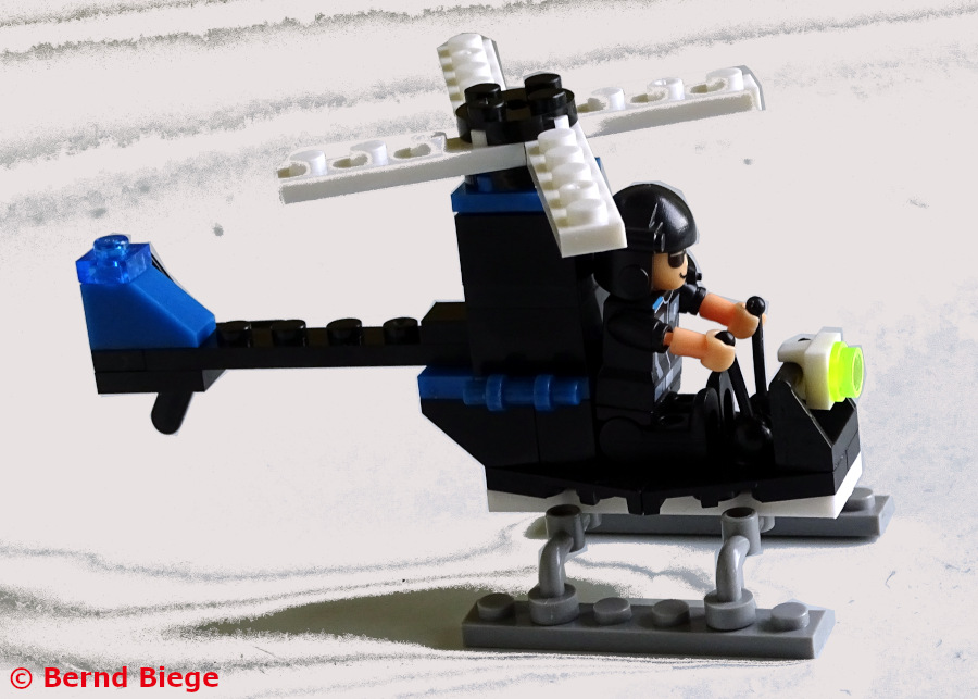 Block Tech SWAT Helicopter Modell