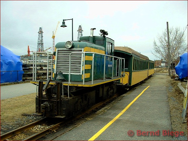 Maine Narrow Gauge Railroad in Portland