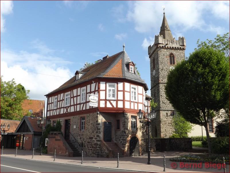 Fachwerkhaus in Bruchköbel (Hessen)