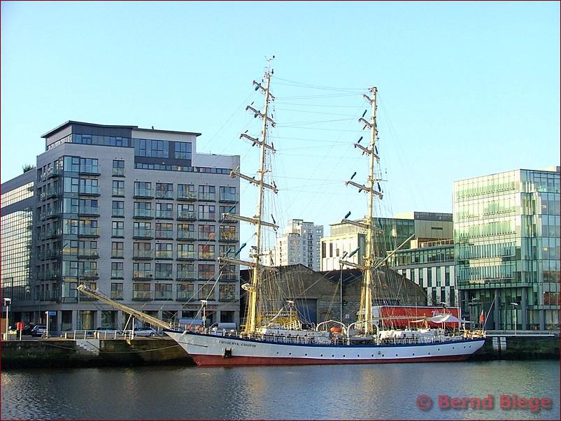 Fryderyk Chopin im Hafen Dublin - 2008