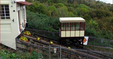 Bergab mit der Eisenbahn von Babbacombe nach Oddicombe