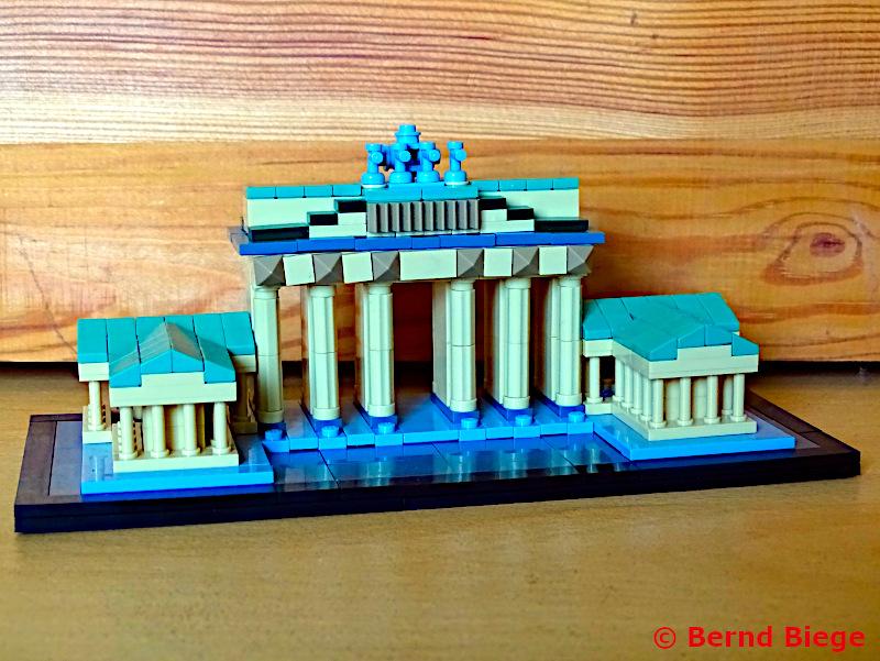 LOZ-Architektur bei Lidl - Brandenburger Tor