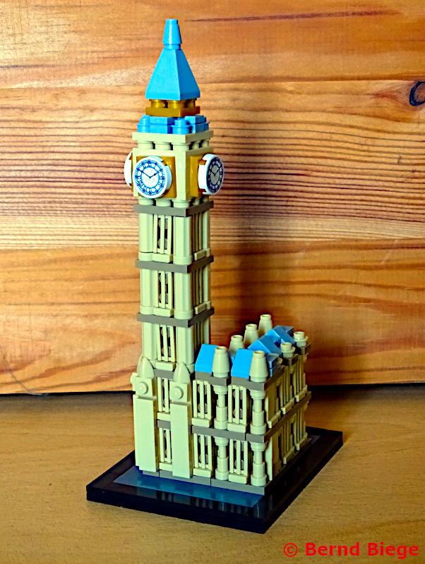 LOZ-Architektur bei Lidl - Elizabeth Tower (Big Ben)