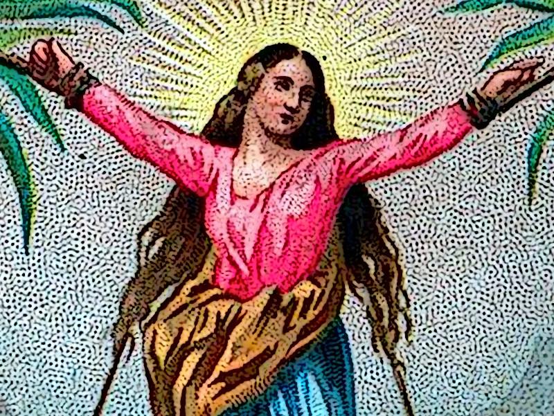 Sankt Corona im Tanzfieber am Palmenstrand?