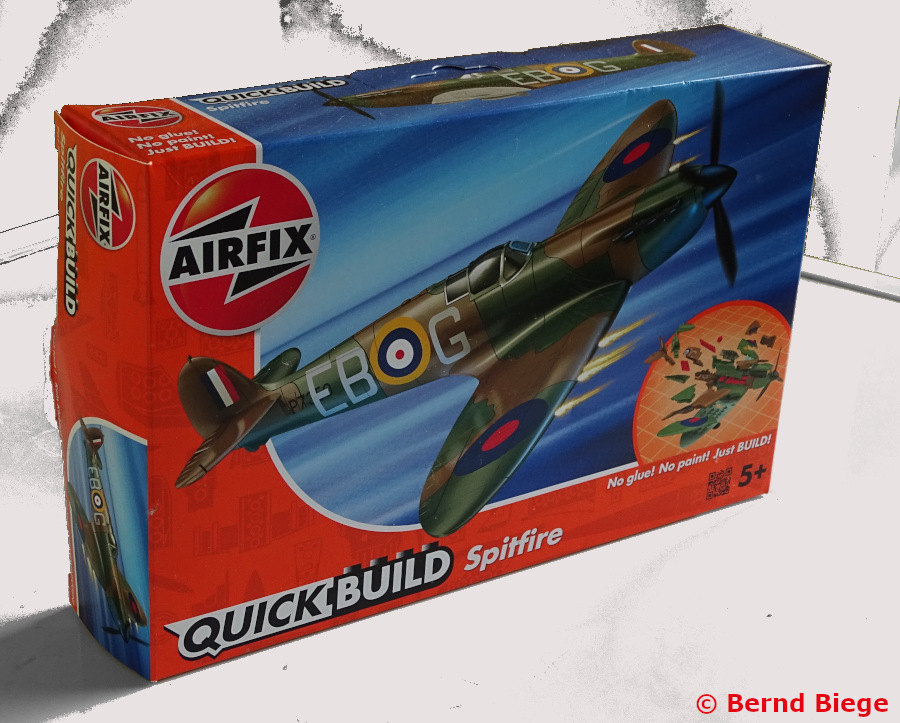 Airfix Quickbuild Spitfire Karton