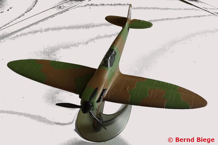Airfix Quickbuild Spitfire Modell