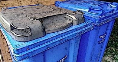 Da muss der Müll rein ...